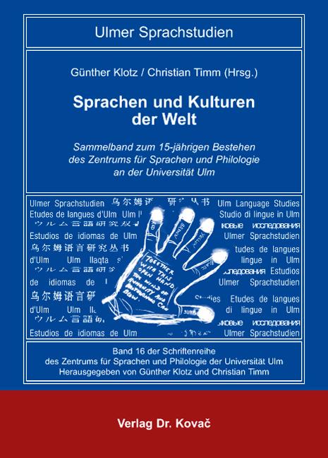 Cover: Sprachen und Kulturen der Welt