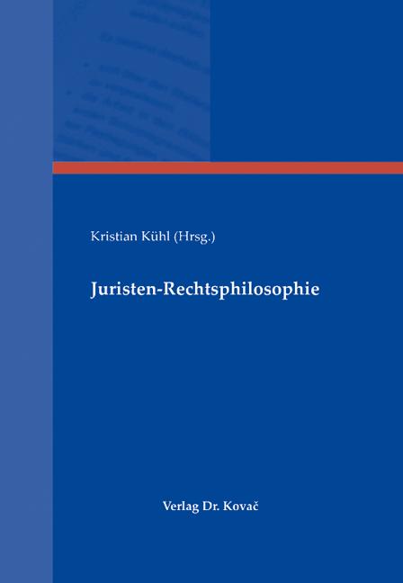 Cover: Juristen-Rechtsphilosophie