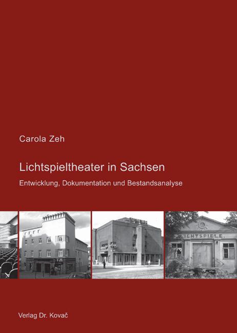 Cover: Lichtspieltheater in Sachsen
