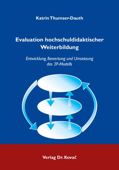 Cover: Evaluation hochschuldidaktischer Weiterbildung