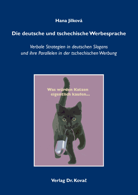 Cover: Die deutsche und tschechische Werbesprache
