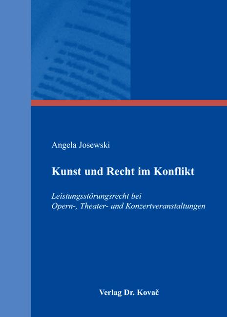 Cover: Kunst und Recht im Konflikt