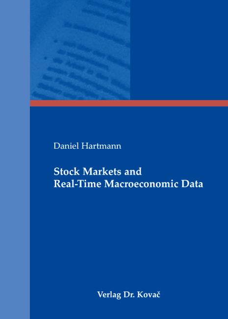 Cover: Stock Markets and Real-Time Macroeconomic Data