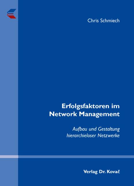 Cover: Erfolgsfaktoren im Network Management