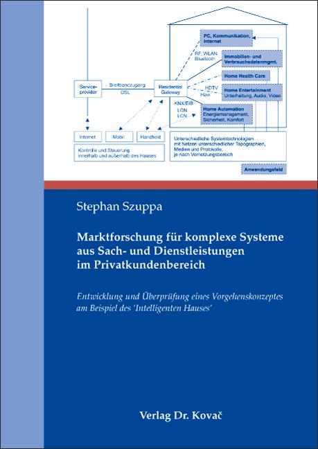 Cover: Marktforschung für komplexe Systeme aus Sach- und Dienstleistungen im Privatkundenbereich