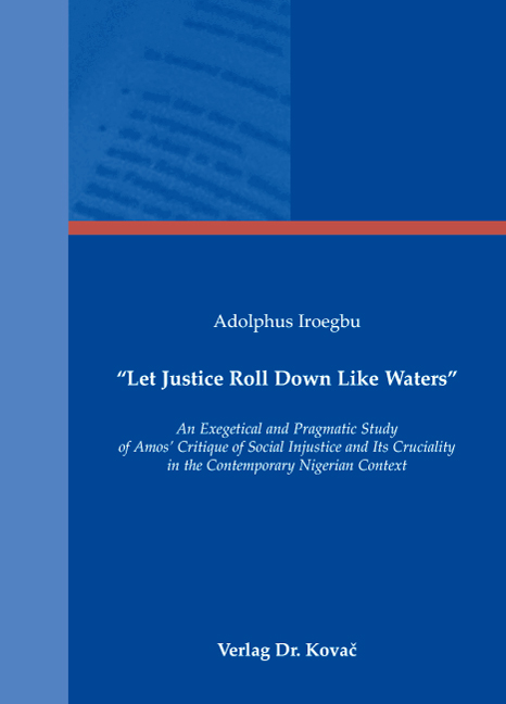 """Cover: """"Let Justice Roll Down Like Waters"""""""