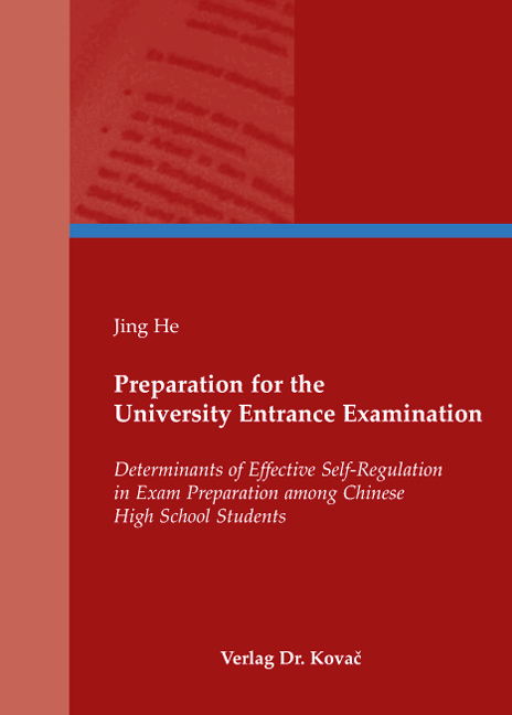 Cover: Preparation for the University Entrance Examination