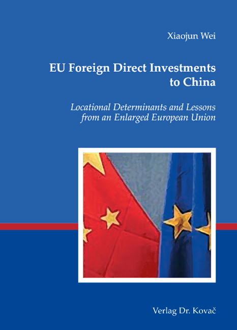 Cover: EU Foreign Direct Investments to China