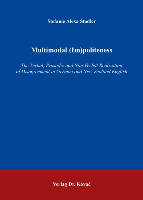 Cover: Multimodal (Im)politeness