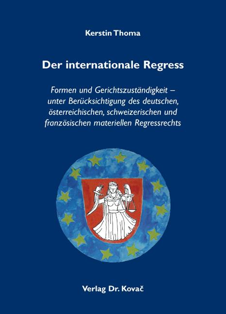 Cover: Der internationale Regress