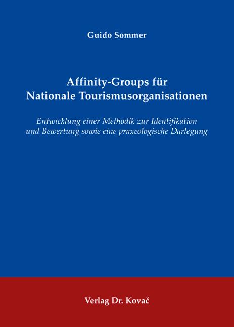 Cover: Affinity-Groups für Nationale Tourismusorganisationen