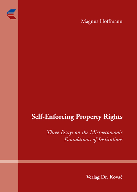 Cover: Self-Enforcing Property Rights