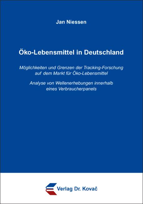 Cover: Öko-Lebensmittel in Deutschland