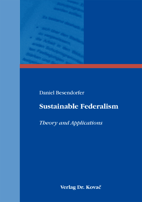 Cover: Sustainable Federalism