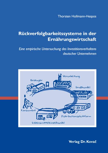 Cover: Rückverfolgbarkeitssysteme in der Ernährungswirtschaft