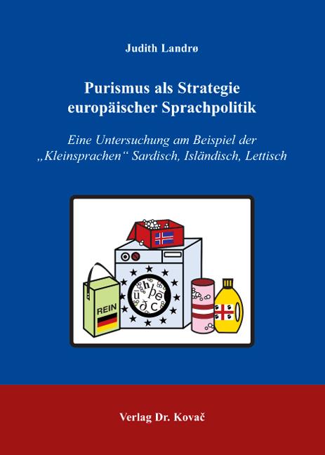 Cover: Purismus als Strategie europäischer Sprachpolitik