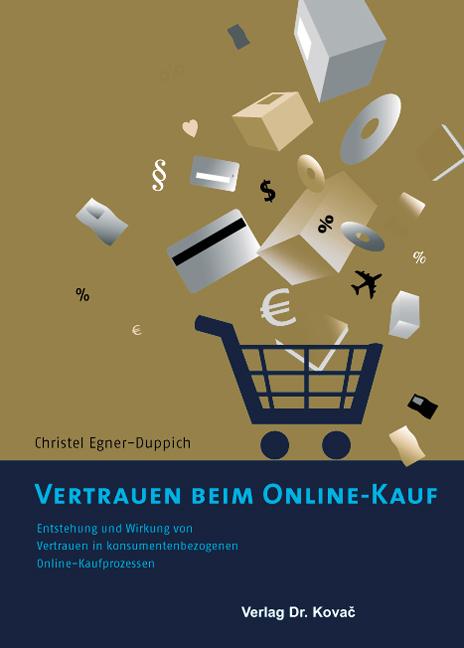 Cover: Vertrauen beim Online-Kauf