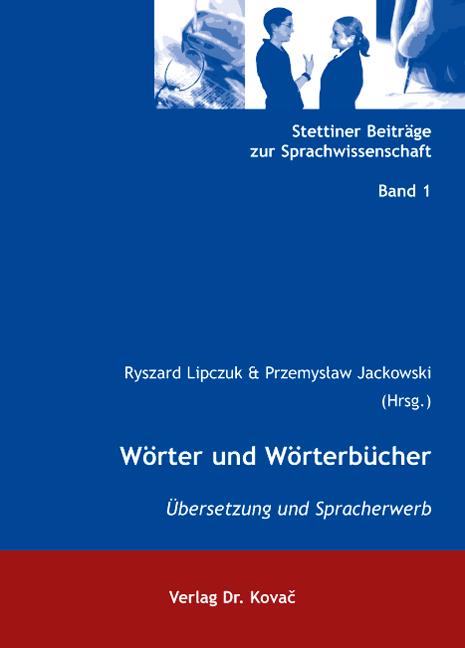 Cover: Wörter und Wörterbücher