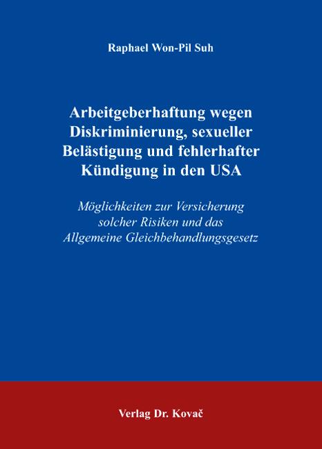 Arbeitgeberhaftung Wegen Diskriminierung Sexueller Belästigung Und