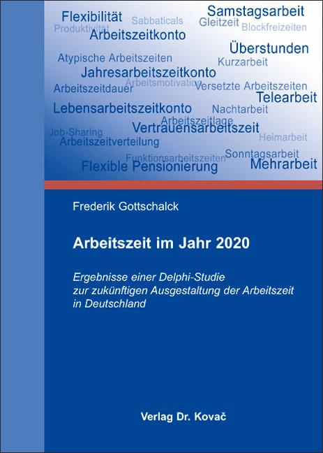 Cover: Arbeitszeit im Jahr 2020