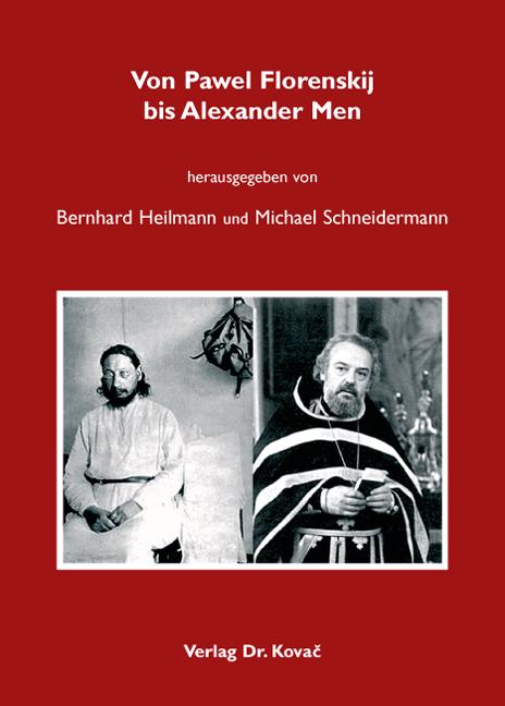 Cover: Von Pawel Florenskij bis Alexander Men