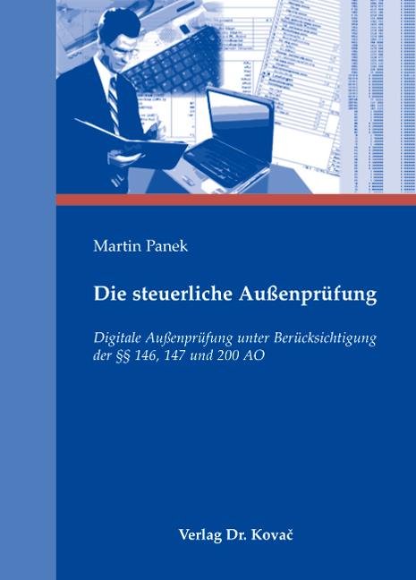 Cover: Die steuerliche Außenprüfung