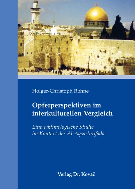 Cover: Opferperspektiven im interkulturellen Vergleich