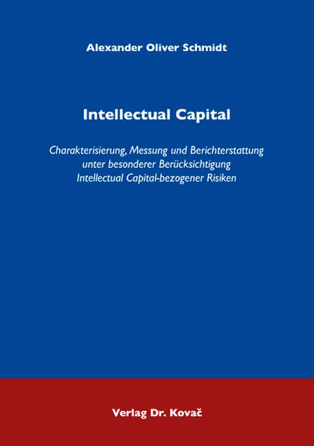 Cover: Intellectual Capital
