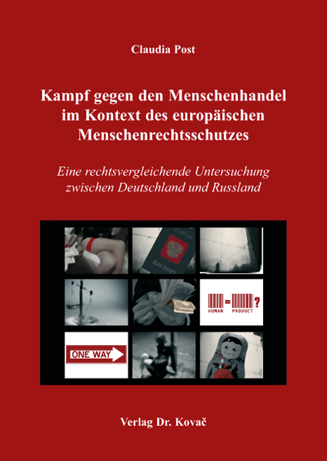 Cover: Kampf gegen den Menschenhandel im Kontext des europäischen Menschenrechtsschutzes