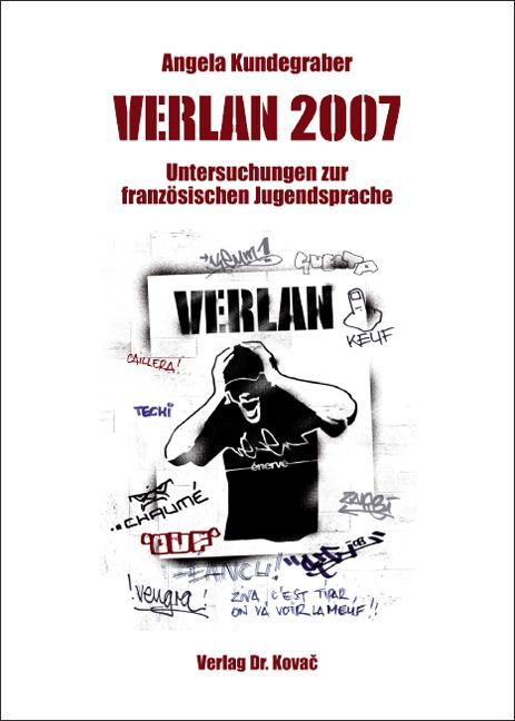 Cover: VERLAN 2007 – Untersuchungen zur französischen Jugendsprache