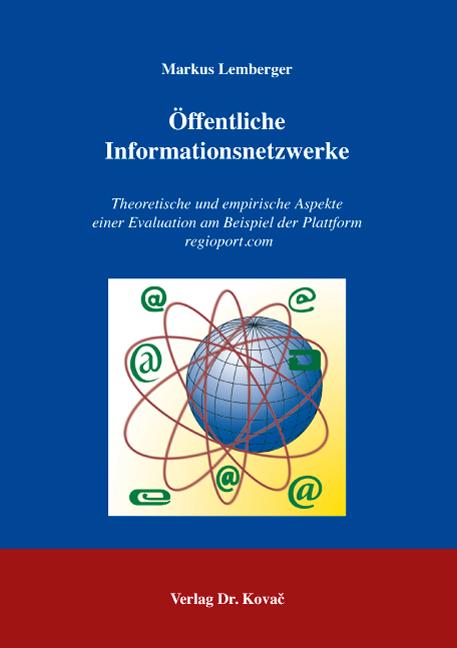 Cover: Öffentliche Informationsnetzwerke