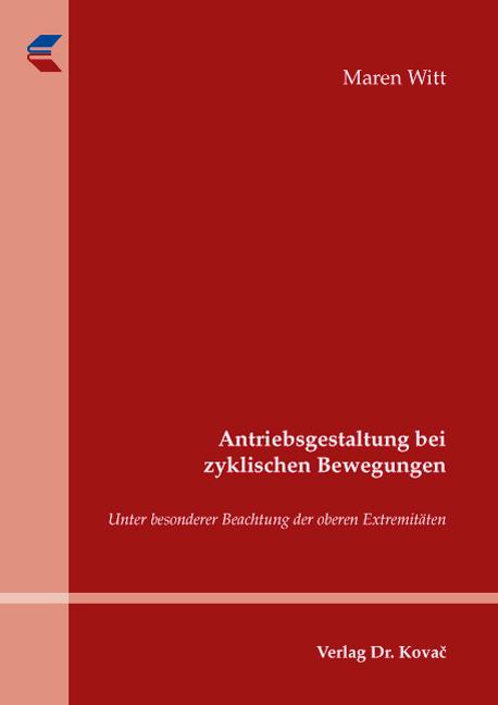 Cover: Antriebsgestaltung bei zyklischen Bewegungen
