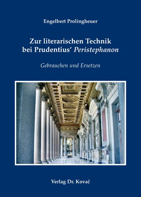 Cover: Zur literarischen Technik bei Prudentius' Peristephanon