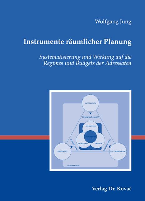Cover: Instrumente räumlicher Planung