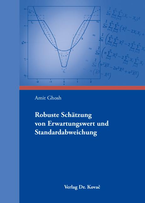 Cover: Robuste Schätzung von Erwartungswert und Standardabweichung