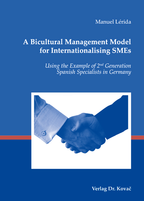 Cover: A Bicultural Management Model for Internationalising SMEs