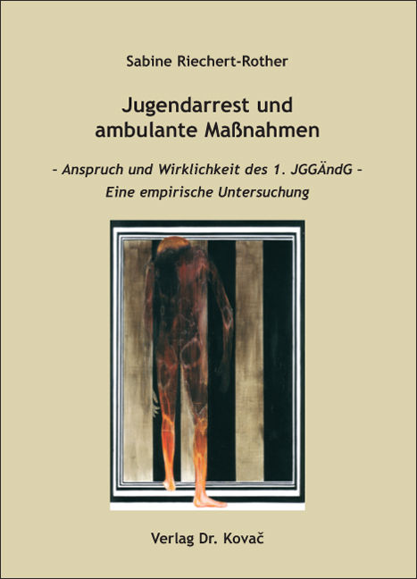 Cover: Jugendarrest und ambulante Maßnahmen