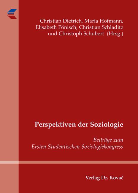 Cover: Perspektiven der Soziologie
