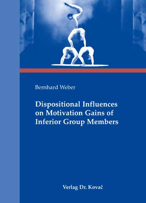 Cover: Dispositional Influences on Motivation Gains of Inferior Group Members