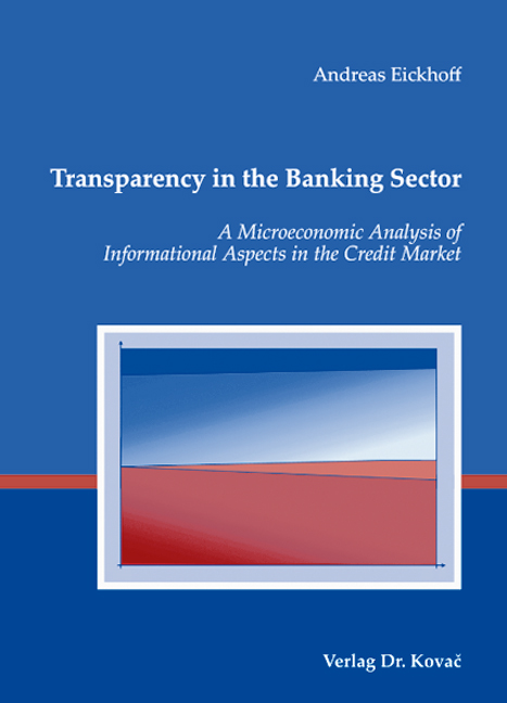 Cover: Transparency in the Banking Sector