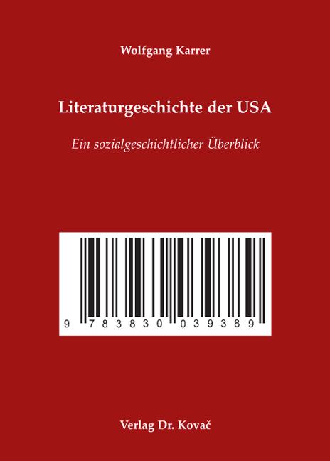Cover: Literaturgeschichte der USA