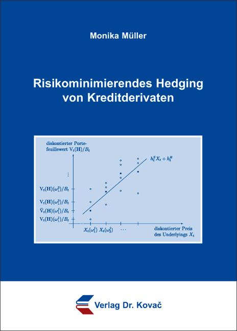 Cover: Risikominimierendes Hedging von Kreditderivaten