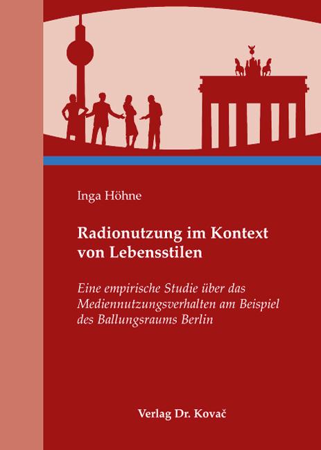 Cover: Radionutzung im Kontext von Lebensstilen