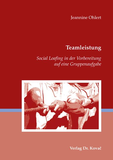 Cover: Teamleistung