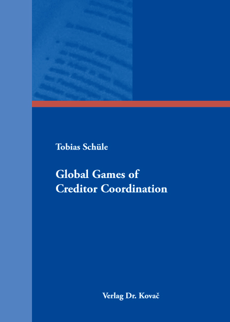 Cover: Global Games of Creditor Coordination