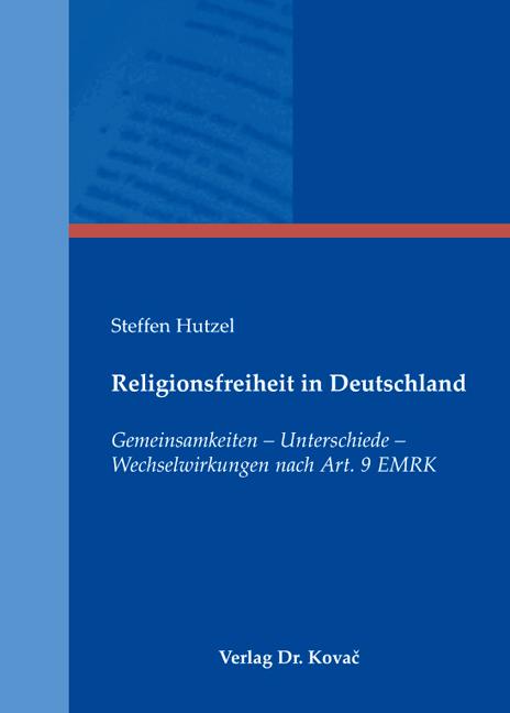 Cover: Religionsfreiheit in Deutschland