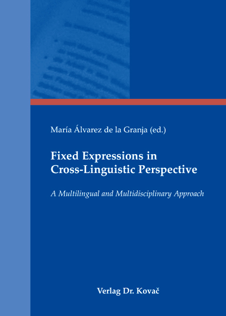 Cover: Fixed Expressions in Cross-Linguistic Perspective