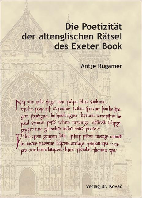 Cover: Die Poetizität der altenglischen Rätsel des Exeter Book