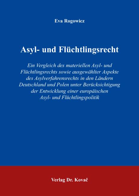 Cover: Asyl- und Flüchtlingsrecht