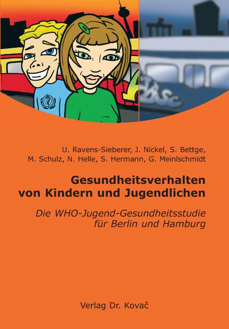 Cover: Gesundheitsverhalten von Kindern und Jugendlichen